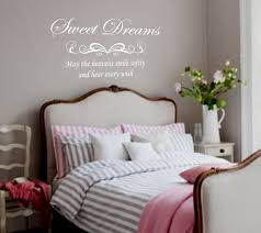 sweet wall decorations for teenager bedroom with grey color paint