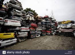 japanese cars car breakers yard new zealand mainly japanese cars stacked high