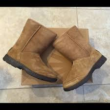womens ugg boots 50 50 ugg shoes ugg michaela chestnut boots size 5 from