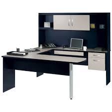 Blue Computer Desk Furniture Modern Navy Blue U Shaped Desk Design Some Advises To