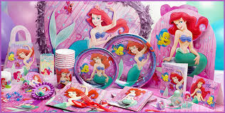 mermaid party supplies birthday