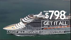 get it all caribbean cruise deals on msc divina 40 seconds