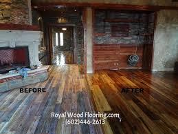 distressed hardwood flooring installation wood floors in