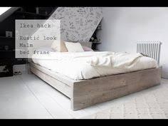 sep 30 ikea hack rustic look for a malm bedframe ikea malm bed
