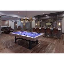8 u0027 imperial bedford weathered oak pool table gametablesonline com
