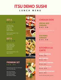 menu templates canva