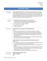 Pediatric Nurse Resume Objective Cardiac Rehab Nurse Resume Contegri Com
