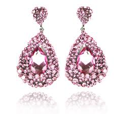 pink earrings 21851poster jpg