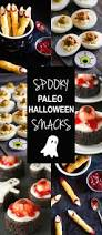 paleo deviled egg eyeballs and spooky snacks