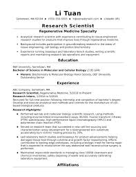lab bench molecular biology entry level research scientist resume sle monster com