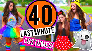 Halloween Costumes 11 12 Olds 40 Minute Diy Halloween Costumes Niki Gabi