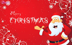 merry wishes card santa claus hd wallpapers