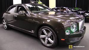 2016 bentley mulsanne interior 2016 bentley mulsanne speed exterior and interior walkaround