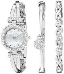 anne klein bracelet set images Anne klein women 39 s ak 1869svst swarovski crystal jpg