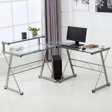 Flat Pack Computer Desk Modern Desks Home Office Furniture With Flat Pack Ebay