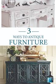 how to paint cabinets to look antique painted furniture ideas 3 ways to get an antiqued look