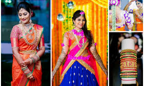 traditional bridal hairstyle south indian bridal hairstyle pelli poola jada