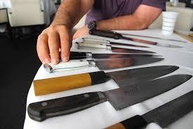 kitchen knife collection knife rack inside josiah citrin s knife kit los angeles magazine