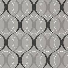 wallpaper for house circulate retro orb in silver beacon house for brewster zinc