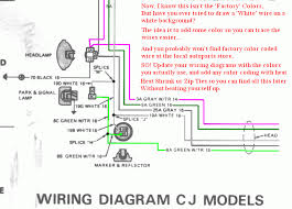 cj wiring diagram wiring diagrams schematics