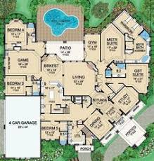 6 bedroom house plans luxury house plan 207 00035 contemporary plan 4 918 square 5