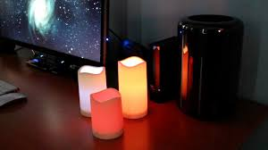 halloween led candles frostfire mooncandles led candles with remote youtube