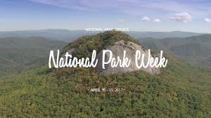 national park service park week 2017