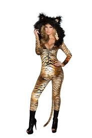 Halloween Animal Costumes by Halloween Tiger Catsuit Costume Animal Costumes Yourlamode
