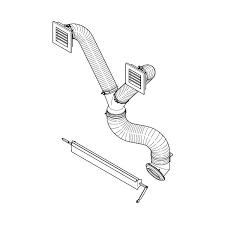 accessori per camini a legna caminetti montegrappa kit canalizzazione per atomo evo