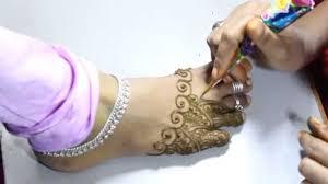 wedding occasion mehandi designs for bridal legs stylish