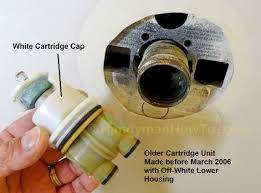 delta shower faucet cartridge stuck