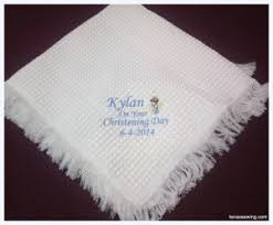 christening blanket personalized personalised christening gifts christening gift ideas baby