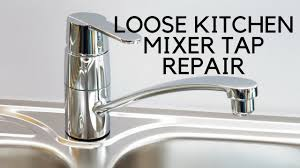 how to stop a faucet in kitchen kitchen mixer tap easy fix