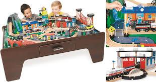 imaginarium train set with table 55 piece imaginarium train table fabulessly frugal