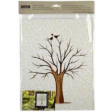 celebrate it occasions thumbprint tree keepsake