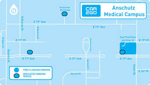 Map Of Aurora Colorado by Car2go Adds Dedicated Parking Spaces To Anschutz Campus In Aurora