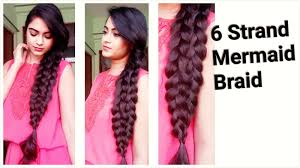 easy hairstyles for medium to long hair for college work 6 strand