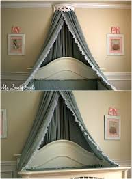 Crown Bed Canopy Sleep In Absolute Luxury With These 23 Gorgeous Diy Bed Canopy