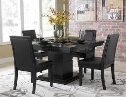 modern black dining room sets coaster modern dining contemporary