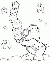 care bear printables kids coloring