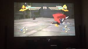 benq w1070 1080p 3d home theater projector white benq w1070 projected on wall gaming naruto youtube