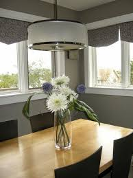 Dining Room Drum Light Designing Home Lighting Your Dining Table