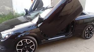 opel astra 2005 tuning opel astra h twin top lambo doors youtube