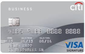 Visa Business Card Citibank Credit Card Business