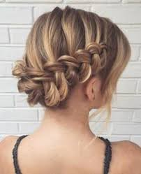 braided hairstyles for thin hair 60 updos for thin hair that score maximum style point bun updo