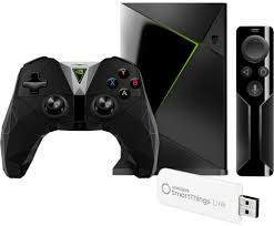 nvidia shield tv 16 gb streaming media player with controller