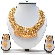 indian bridal jewelry necklace images Gold necklace women wholesale gold chains imitation jewellery JPG