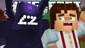 Minecraft Skeleton Halloween Costume by Minecraft Wither Storm Attack Custom Map Youtube