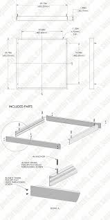 How To Wire Ceiling Lights by Led Panel Light Ceiling Frame Kit Panel Light Accessories