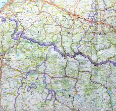 France Regions Map by Map Of The Pyrenean Region France Spain Freytag U0026 Berndt